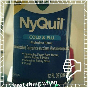 Photo of Vick's NyQuil Cold & Flu Relief Liquid  uploaded by Jessica C.