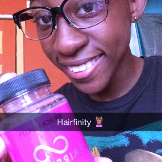 Hairfinity Healthy Hair Vitamins Supplements uploaded by Donisha A.