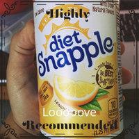 Diet Snapple® Lemon Tea 20 fl. oz. Plastic Bottle uploaded by Melanie C.