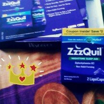 ZzzQuil Nighttime Sleep-Aid Liquid, Warming Berry uploaded by Katrina B.