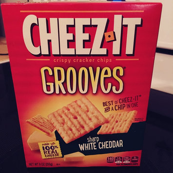 Cheez-It Grooves Zesty Cheddar Ranch Crackers 9 oz uploaded by Trisha L.