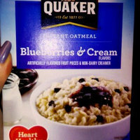 Quaker Life® Blueberries & Cream Instant Oatmeal uploaded by Brooke G.