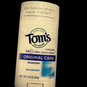 Tom's of Maine Original Care Natural Aluminum Free Deodorant Stick uploaded by Liz L.