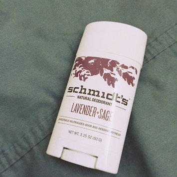 Schmidt's Deodorant Lavender + Sage Deodorant uploaded by Emilie G.