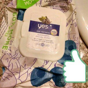 Photo of Yes To Blueberries Cleansing Facial Wipes uploaded by Cindy D.