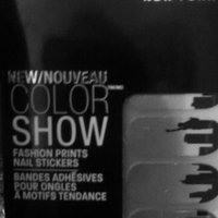 Maybelline Color Show Fashion Prints Nail Stickers uploaded by Marlyne B.