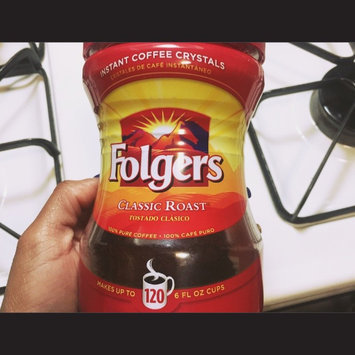 Photo of Folgers Classic Roast Instant Coffee Crystals uploaded by Sierra P.