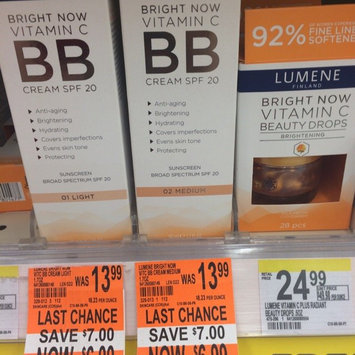 Photo of Lumene Bright Now Vitamin C BB Cream SPF 20 uploaded by Misty D.