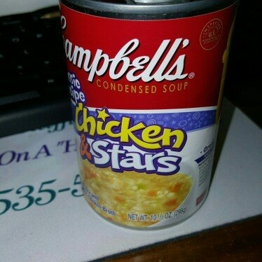 Campbell's Healthy Kids Chicken & Stars Condensed Soup uploaded by Jennifer S.
