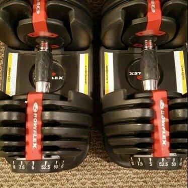 Bowflex SelectTech Adjustable Dumbbells (Pair) uploaded by Danika F.