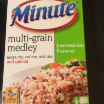 Minute Rice Minute Multi-Grain Medley Microwaveable Rice Bags 4 ct uploaded by Sophia A.