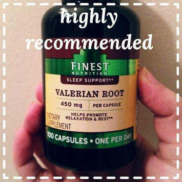 Photo of Finest Natural Valerian 450 mg uploaded by Sereniti C.