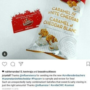 Orville Redenbacher's® Caramel White Cheddar Popcorn uploaded by Jessica F.
