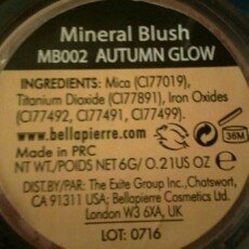 Bella Pierre Compact Mineral Foundation PMF006 Maple + Blush PMB002 Autumn Glow + FREE LED Key Chain uploaded by Amanda Y.