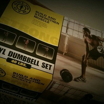 Photo of Gold's Gym Vinyl Dumbbell Set, 40 lbs uploaded by Cecilia C.