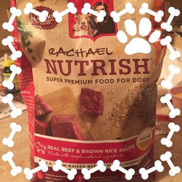 Rachael Ray Nutrish Super Premium Food For Dogs Real Beef & Brown Rice Recipe uploaded by Carla H.