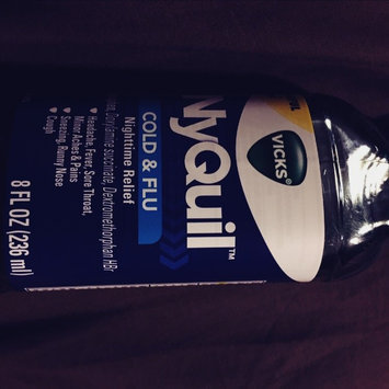 Photo of Vick's NyQuil Cold & Flu Relief Liquid  uploaded by Lauren D.