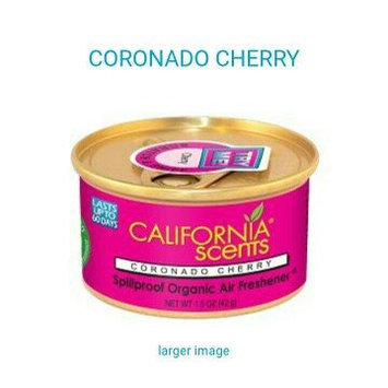 Photo of California Scents Spillproof Organic Air Freshener Twin-pack, Coronado Cherry, 1.5 Ounce Canister (Pack of 4) uploaded by Nancy G.