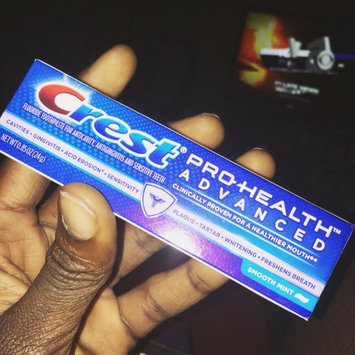 Photo of Crest Pro Health Crest Pro-Health Advanced Soothing Smooth Mint Toothpaste uploaded by Abuk y.