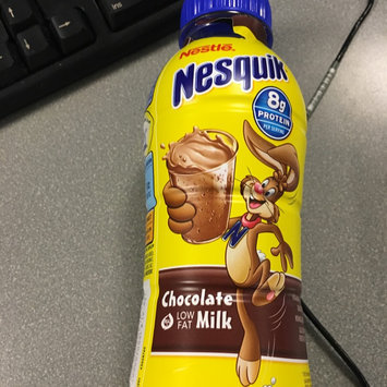 Photo of Nesquik® Chocolate Ready-to-Drink Fat Free Milk uploaded by Gianna R.