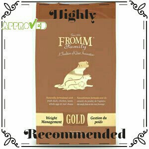 Fromm Gold Nutritionals Adult Dry Dog Food [5lb] uploaded by Shea L.