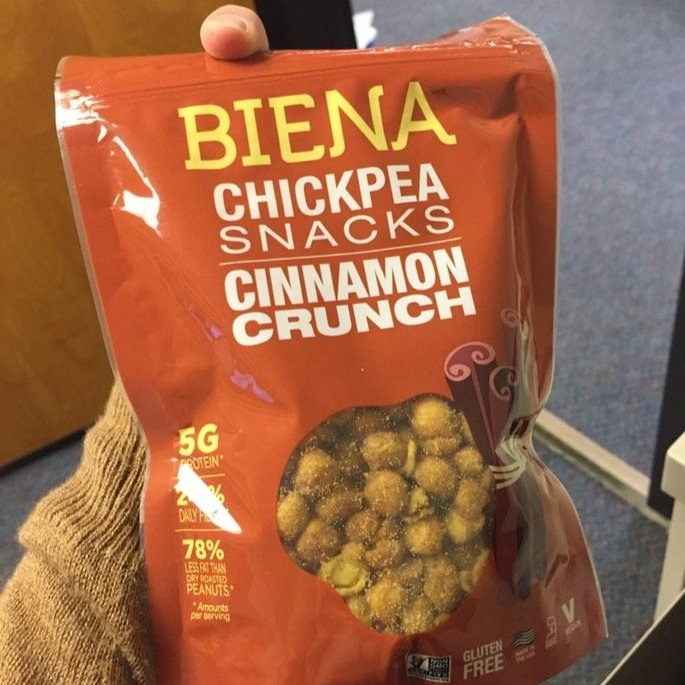Biena Cinnamon Roasted Chickpeas 5 oz uploaded by Ashley P.