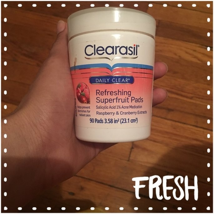 Clearasil Daily Clear Refreshing Pads, 90 ea uploaded by Bergineliz R.