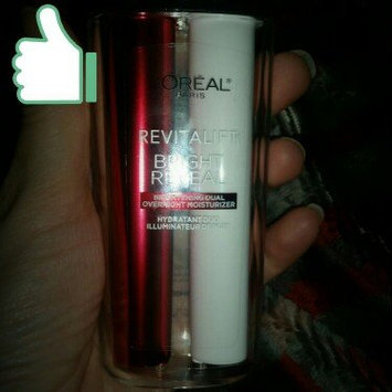 L'Oréal Paris Revitalift Bright Reveal Brightening Dual Overnight Moisturizer uploaded by Michelle T.