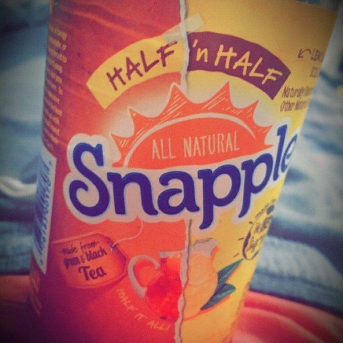 Snapple Half 'n Half Diet Lemonade Iced Tea uploaded by bobbi w.