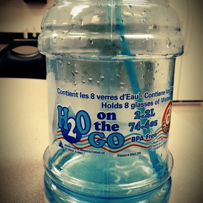 Arrow Plastics H2O on the Go 2.2 Liter Beverage Bottle uploaded by Karma L.