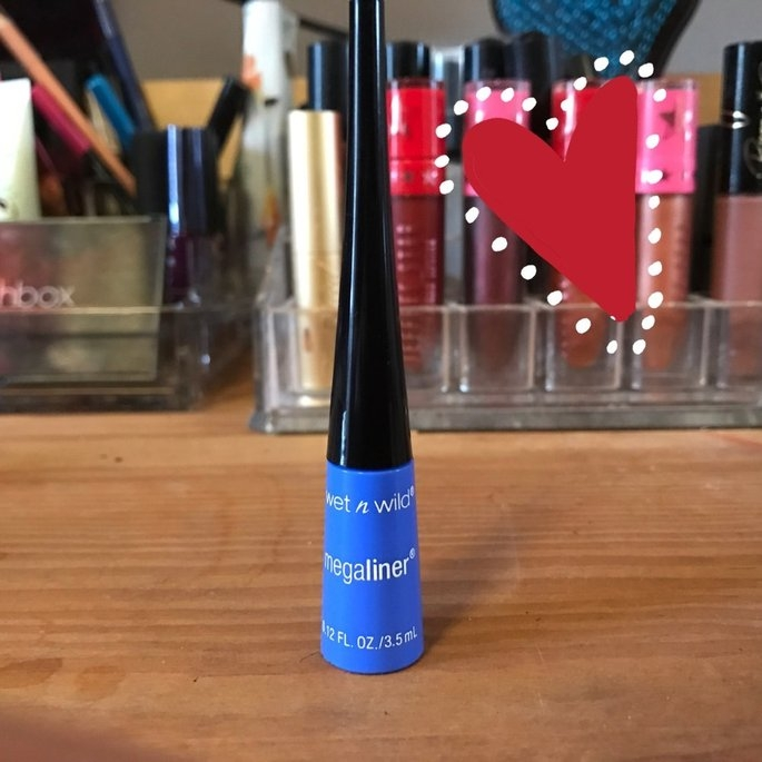 Wet 'n' Wild Wet n Wild MegaLiner Liquid Eyeliner, Voltage Blue, .12 oz uploaded by Gabi R.