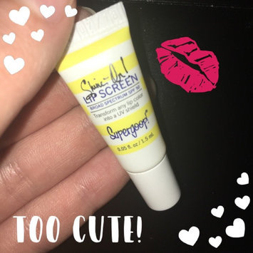 Photo of Supergoop! Shine On Lip Screen Broad Spectrum SPF 50 0.14 oz uploaded by Caitlin B.