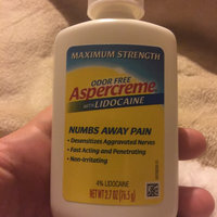 Aspercreme with Lidocaine Pain Relieving Creme Maximum Strength uploaded by Candy L.