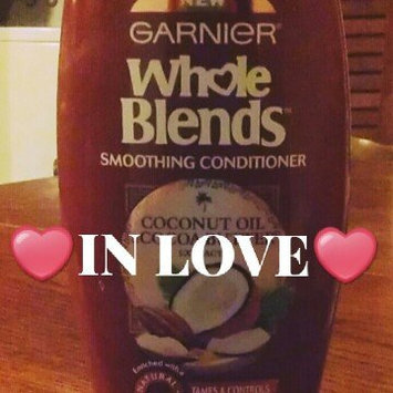 Photo of Garnier Whole Blends Coconut Oil & Cocoa Butter Extracts Smoothing Conditioner uploaded by Brandi G.