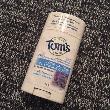 Photo of Tom's OF MAINE ANTIPERSPIRANT & DEODORANT Unscented Long Lasting Deodorant uploaded by Cassandra D.