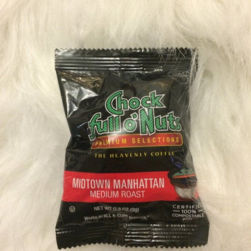 Photo of Chock Full o'Nuts Medium Roast Coffee Midtown Manhattan Single Serve Cups uploaded by Trendy M.