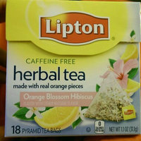 Lipton® Orange Blossom Hibiscus Herbal Tea uploaded by sayber c.