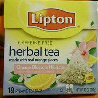Lipton Orange Blossom Hibiscus Herbal Tea uploaded by sayber c.