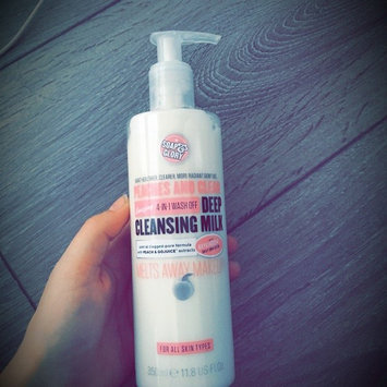 Photo of Soap & Glory Peaches And Clean(TM) Deep Cleansing Milk uploaded by Emily N.