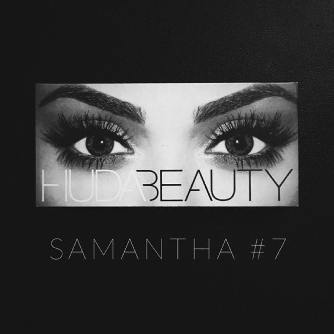 Huda Beauty Classic False Lashes Samantha 7 uploaded by Zohaina A.