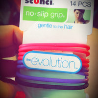 Scunci The Evolution No Slip Grip Hair Ties Assorted Color - 14 CT uploaded by mary b.