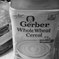 Gerber Whole Wheat Cereal uploaded by tina c.