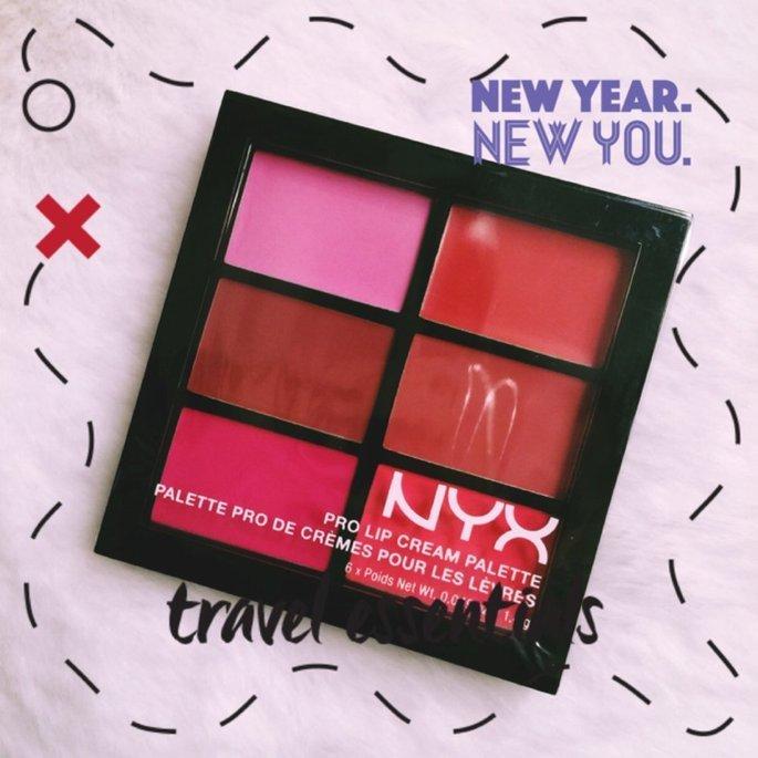 Nyx Cosmetics Pro Lip Cream Palette uploaded by Brenda E.