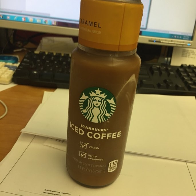 Starbucks® Caramel Iced Coffee 11 fl. oz. Glass Bottle uploaded by Nelly P.