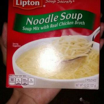 Photo of Lipton Soup Secrets Noodle Soup Mix uploaded by Jackie A.