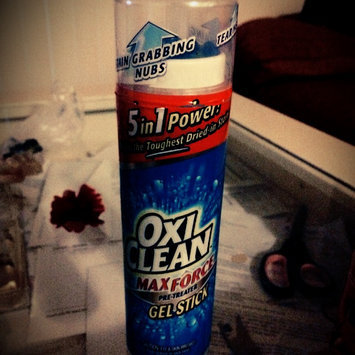 OxiClean Max Force Pre-Treater Gel Stick uploaded by Evelin M.