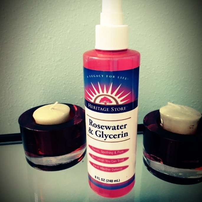 Heritage Store Heritage Rosewater and Glycerin With Atomizer - 8 Ounce, 7 Pack uploaded by Veronica T.