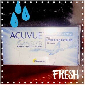Photo of Acuvue Oasys For Astigmatism Contact Lenses uploaded by Maria M.