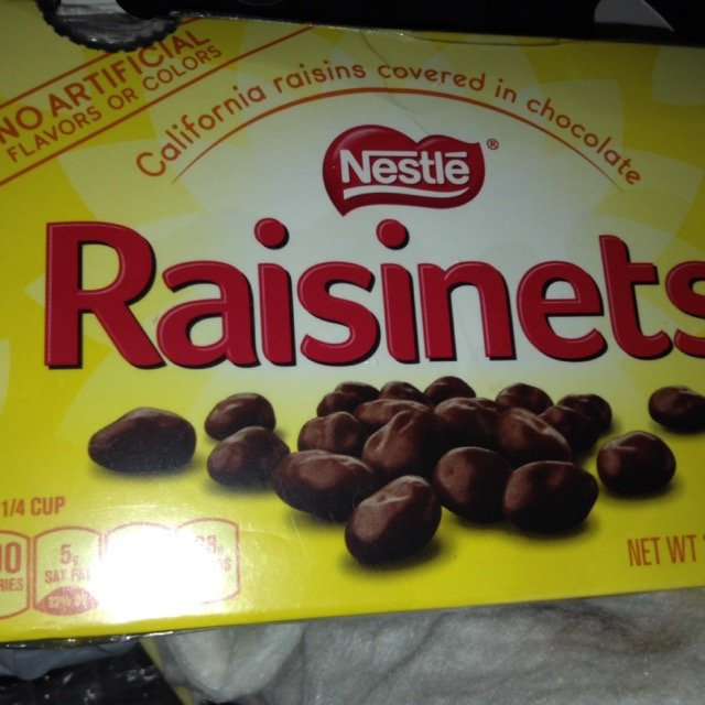 Nestlé Raisinets California Raisins and Milk Chocolate