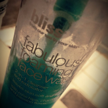 Bliss fabulous foaming face wash, 6.7 oz uploaded by Miranda D.
